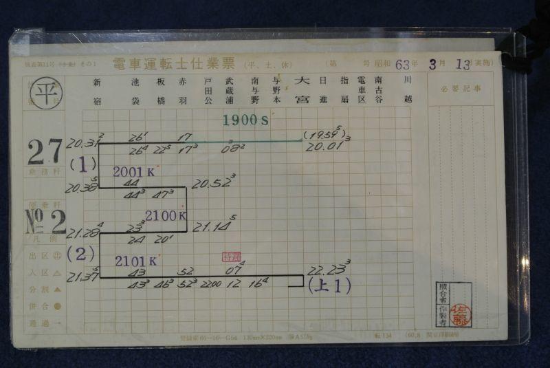 画像3: 埼京線運転士スタフケース付き