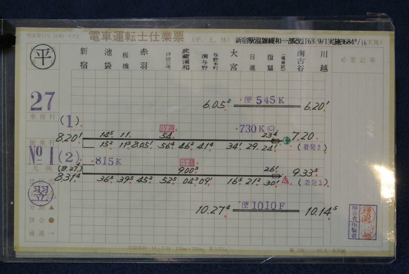 画像4: 埼京線運転士スタフケース付き