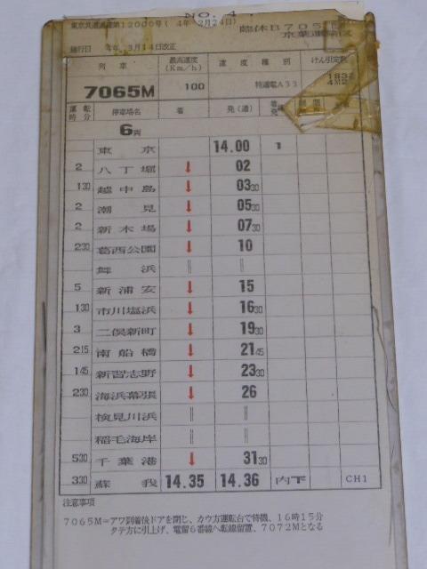 画像2: 臨休「B705仕業」京葉運輸区No.4