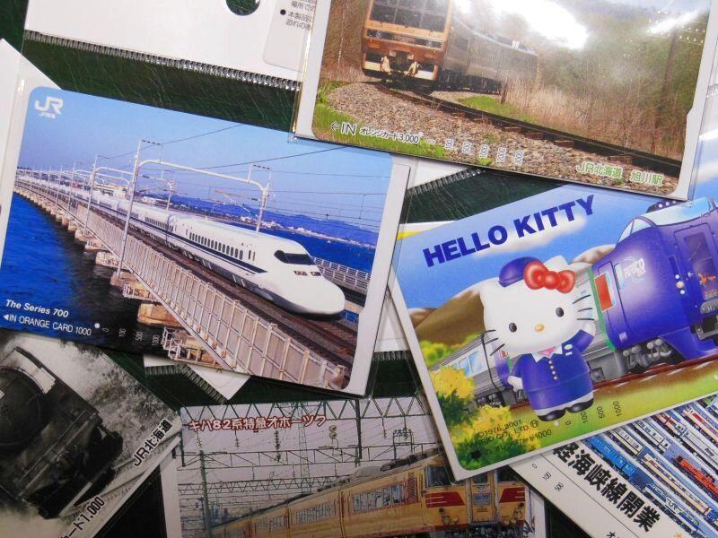 画像2: ありがとう北国の駅「もんぽない」駅プレマグネット・使用済みオレカ1枚付きです