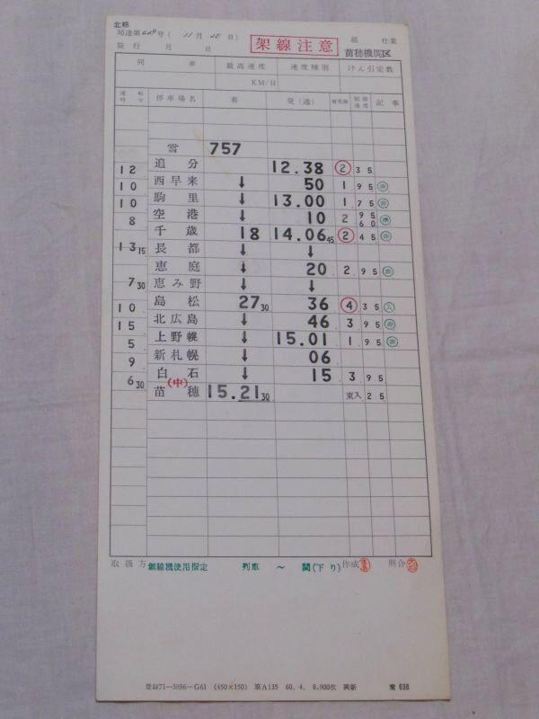 画像2: 苗穂機関区 千歳・石勝線排雪列車「雪757追分→苗穂」